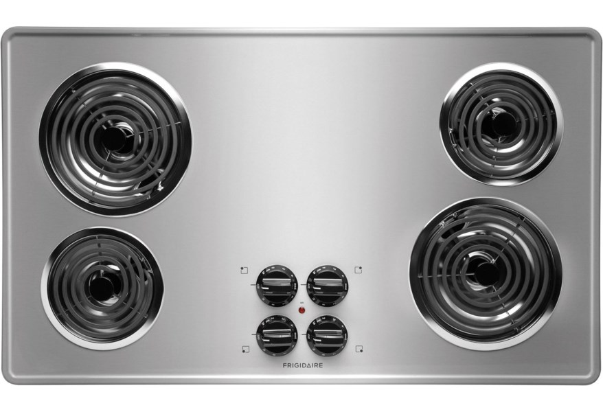 Electric Cooktop With 4 Coil