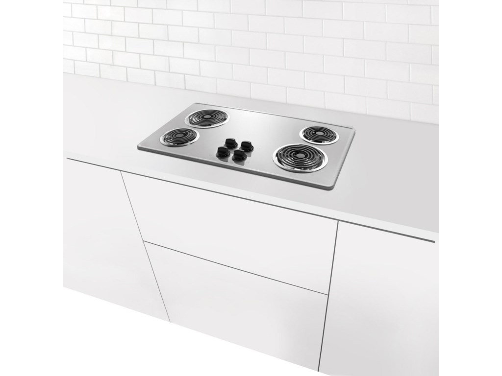 Shown Embedded in Kitchen Counter Setting