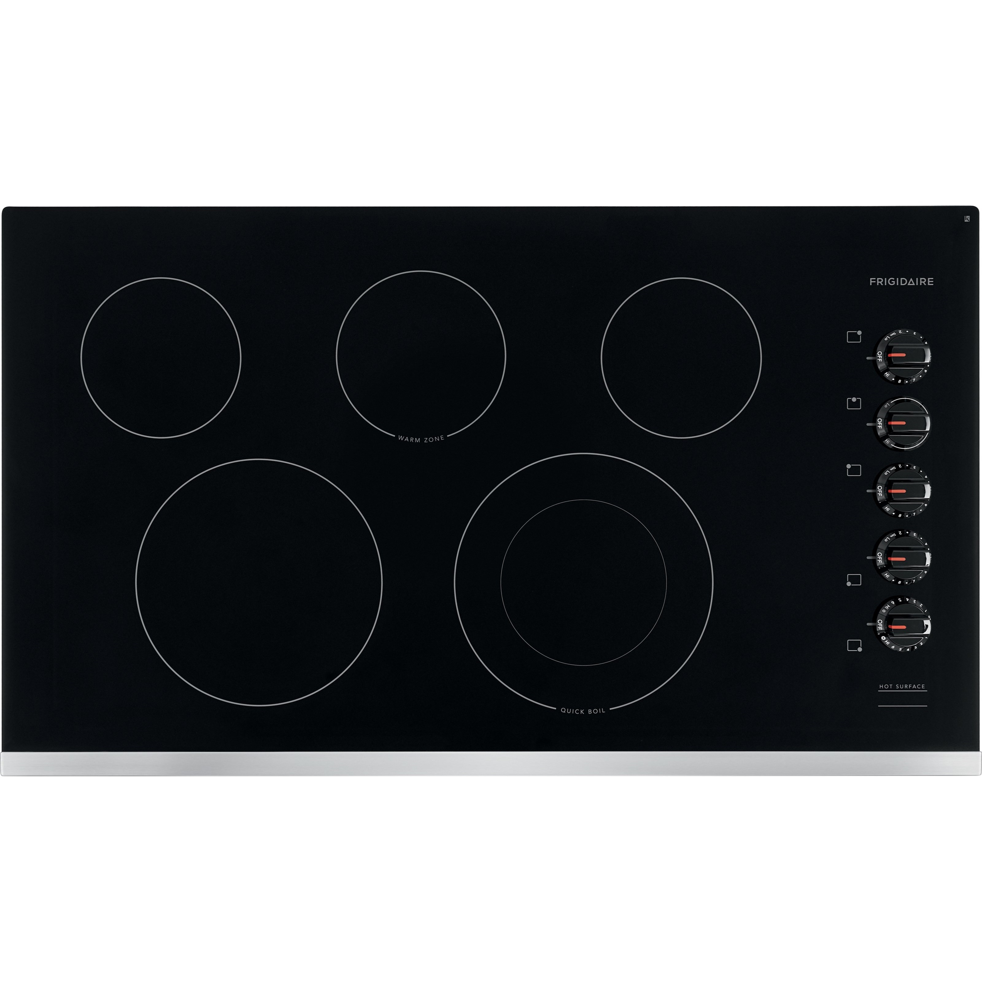 """36"""" Electric Cooktop with Ceramic Glass Top"""