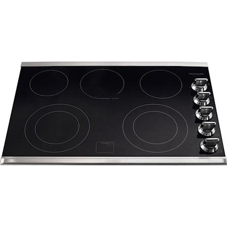 """30"""" Built-In Electric Cooktop"""