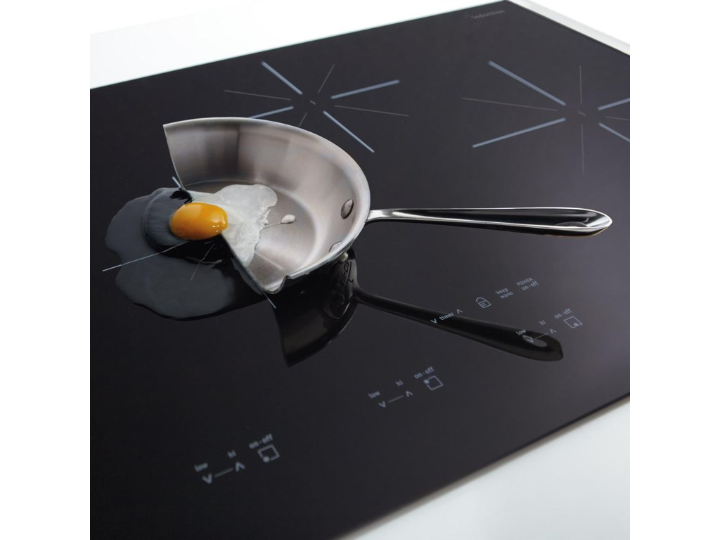 Induction Heating Only Heats the Pan, Saving Energy