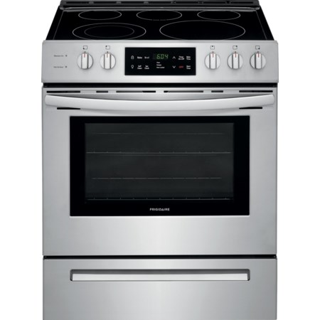 """30"""" Front Control Freestanding Electric Rang"""