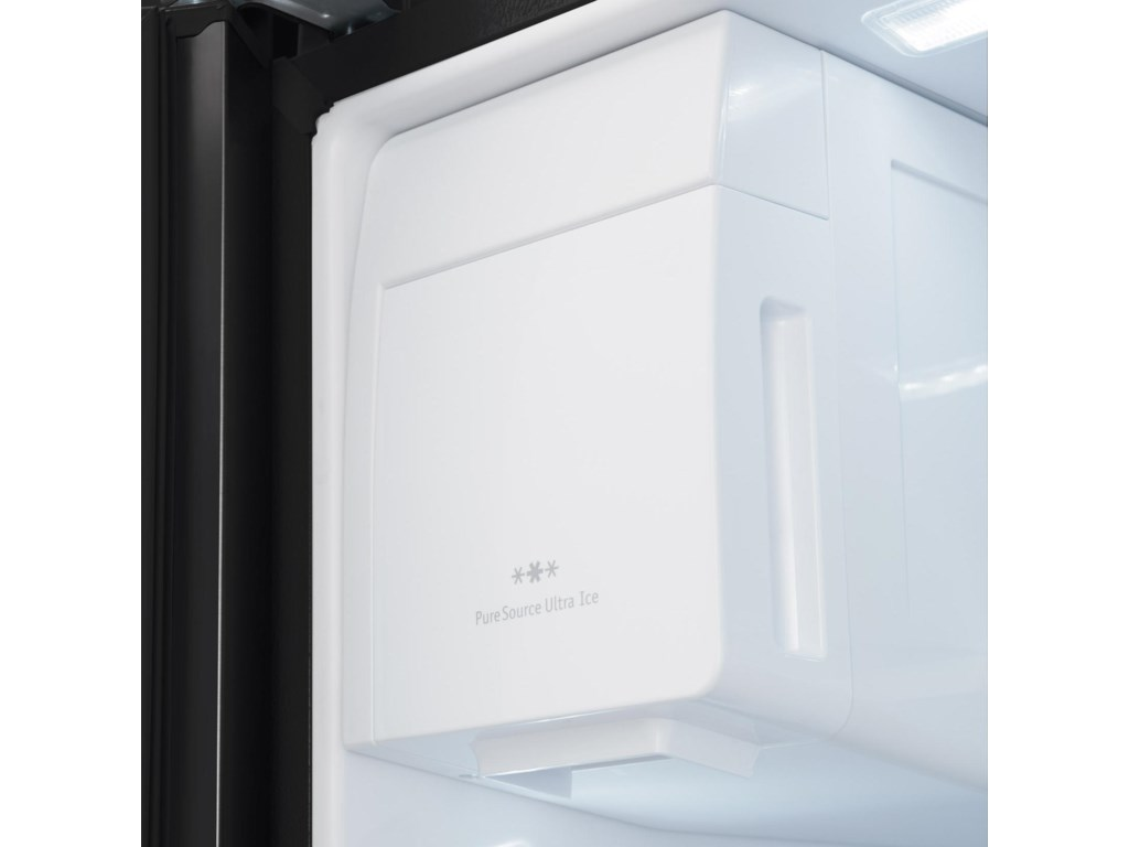 Icem Mker in Fridge with Second Ice Maker Optional