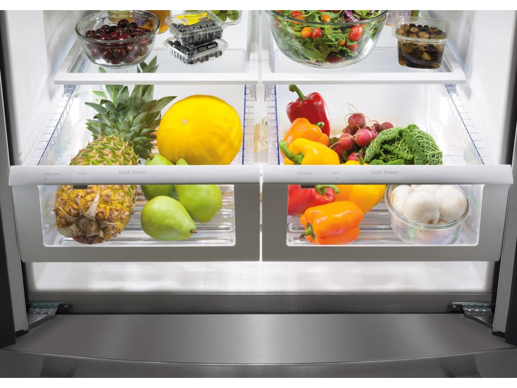 Effortless™ Glide Crisper Drawers