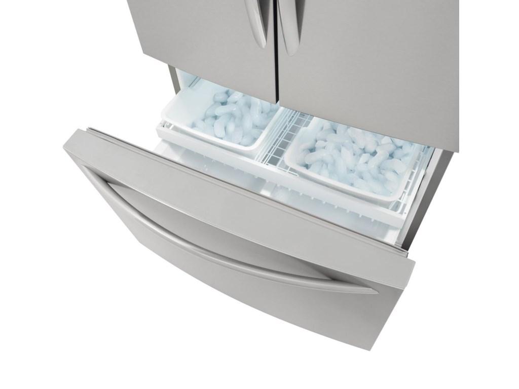 Effortless™ Glide Freezer Drawers with Basket Dividers