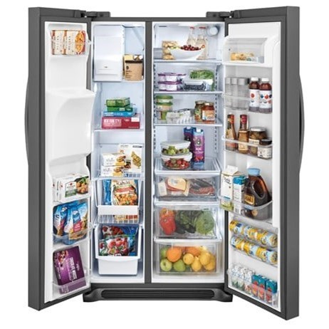... Frigidaire Gallery Side By Side Refrigerators22.2 CuFt. Counter Depth  Side