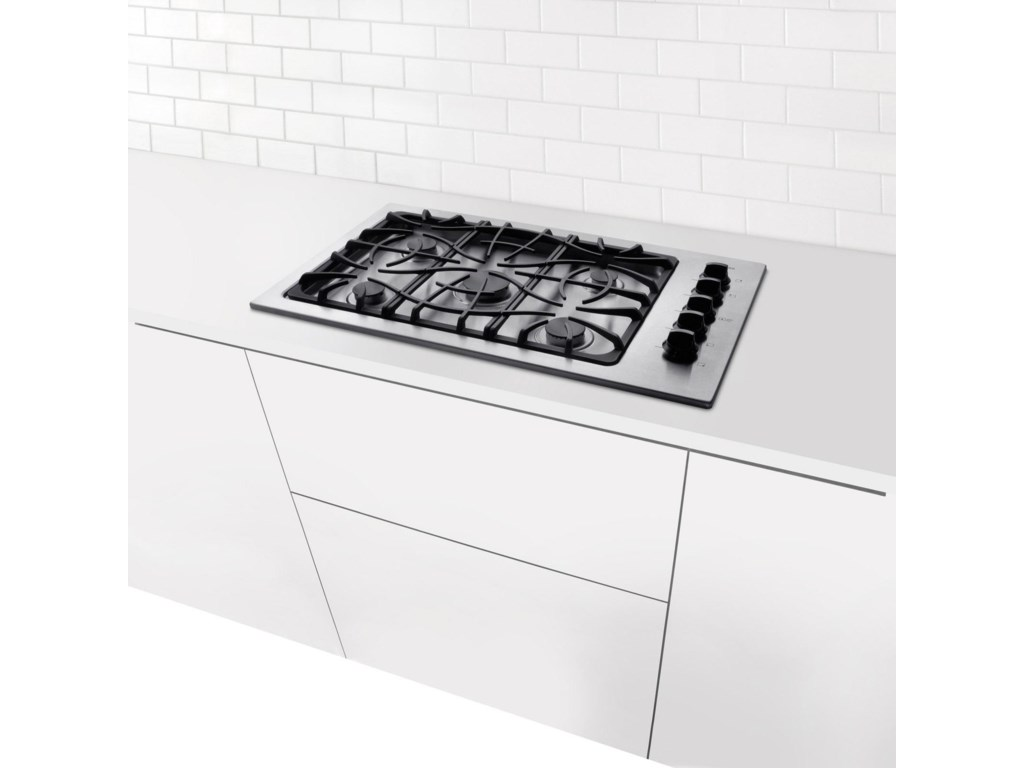 Cooktop Shown Embedded in Kitchen Countertop