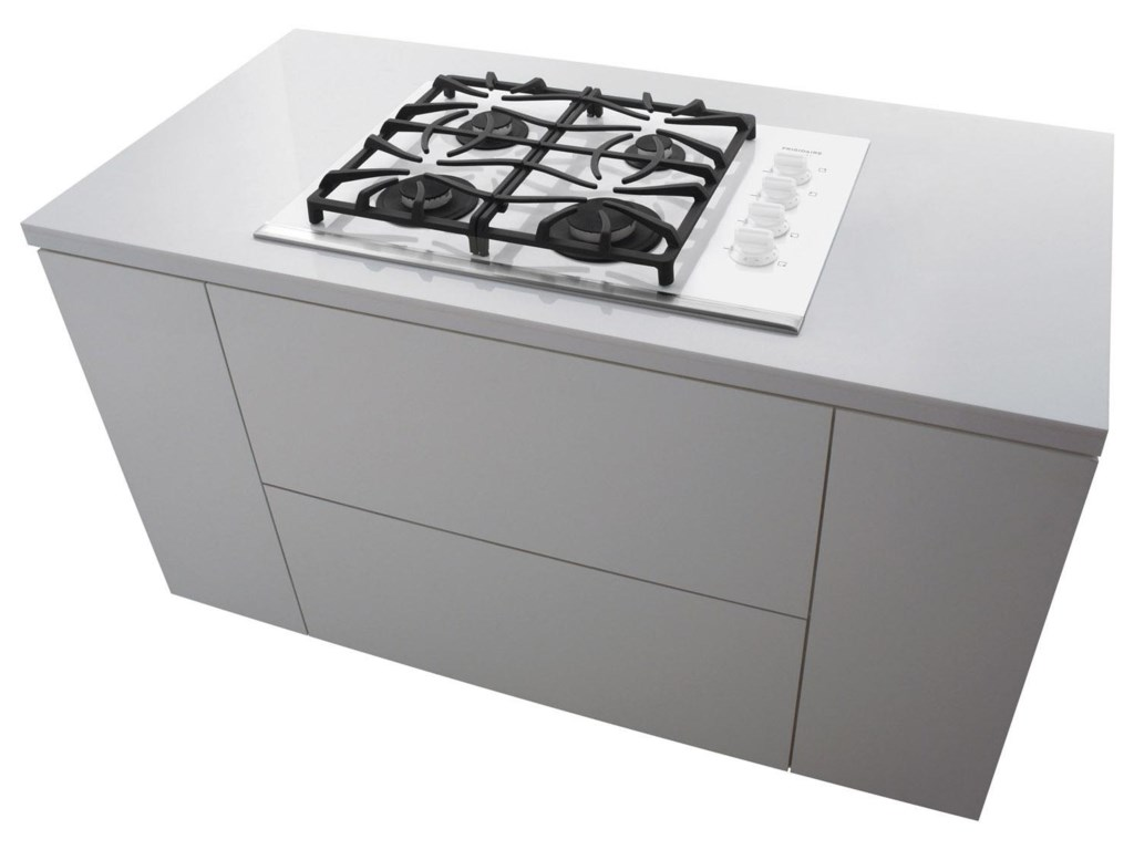 Cooktop Mounts Beautifully within Kitchen Countertop