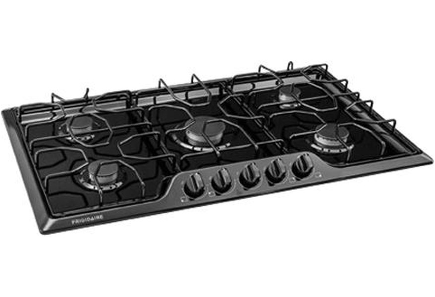 Frigidaire 36 Gas Cooktop With Angled Front Controls Wilcox Furniture Cooktop Gas