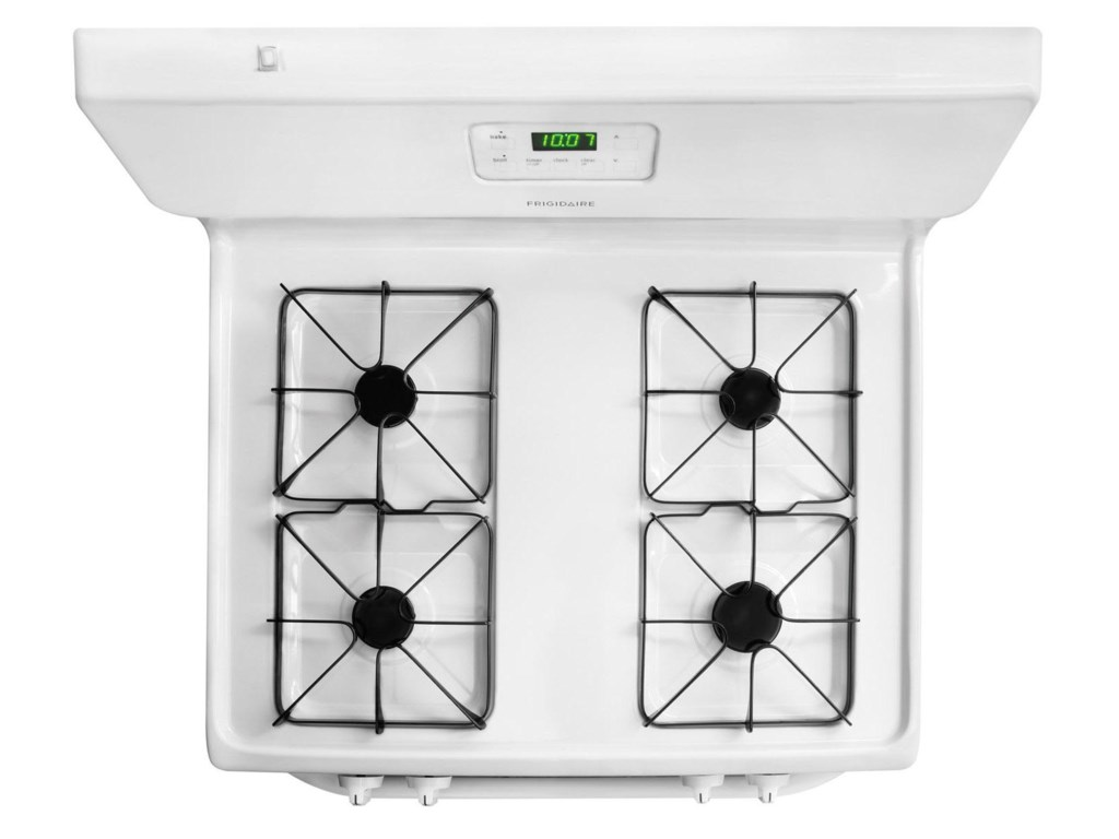 Sealed Gas Burners Enjoy Easy Cleanup and Stay Looking Nice