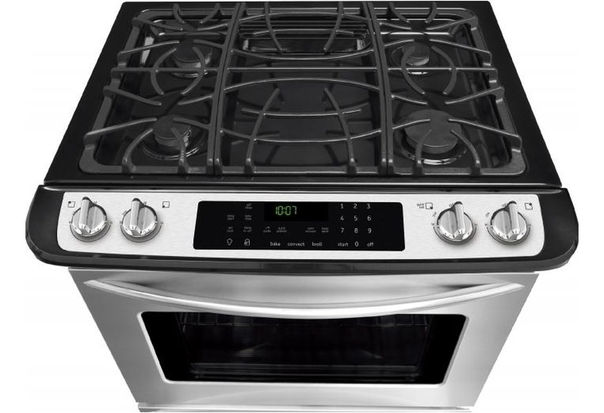 Frigidaire Fggs3065pf Gallery Premier 30 Slide In Gas Range With