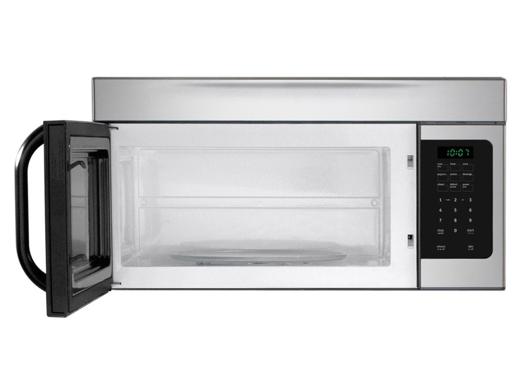 Extra-Large Microwave Provides 1.6 Cu. Ft. of Cooking Space