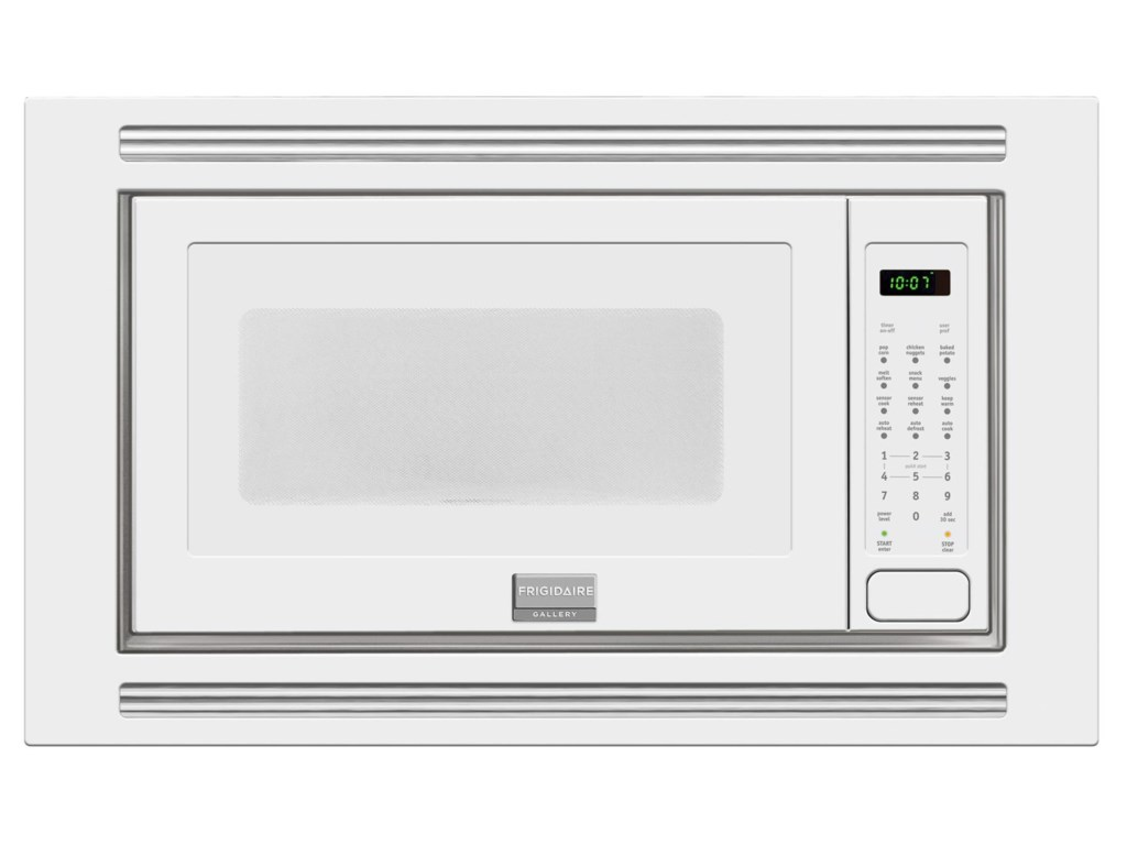 Frigidaire Microwaves2 0 Cu Ft Built In Microwave Shown White Stainless Steel