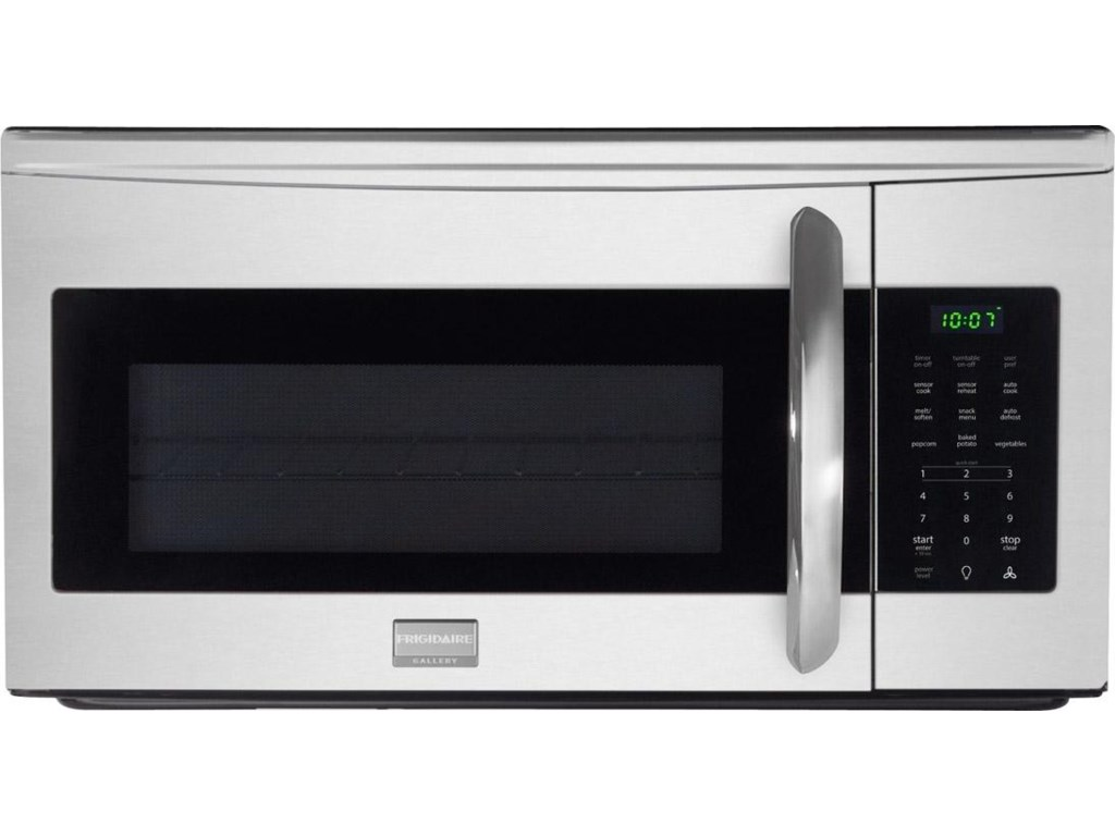 Frigidaire Microwavesgallery 1 7 Cu Ft Over The Range Microwave