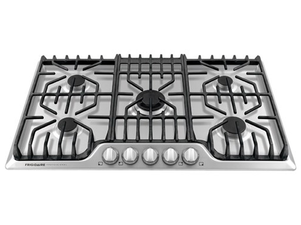 36 Frigidiare Professional Gas Cooktop Frigidaire Collection Cooktops36