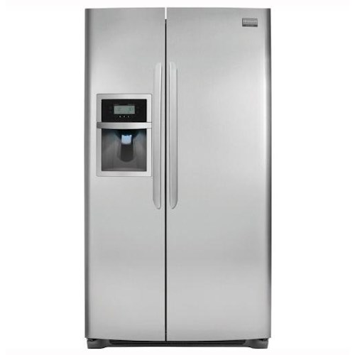 Frigidaire Side-By-Side Refrigerators ENERGY STAR® Qualified 26 Cu. Ft. Side-by-Side Refrigerator