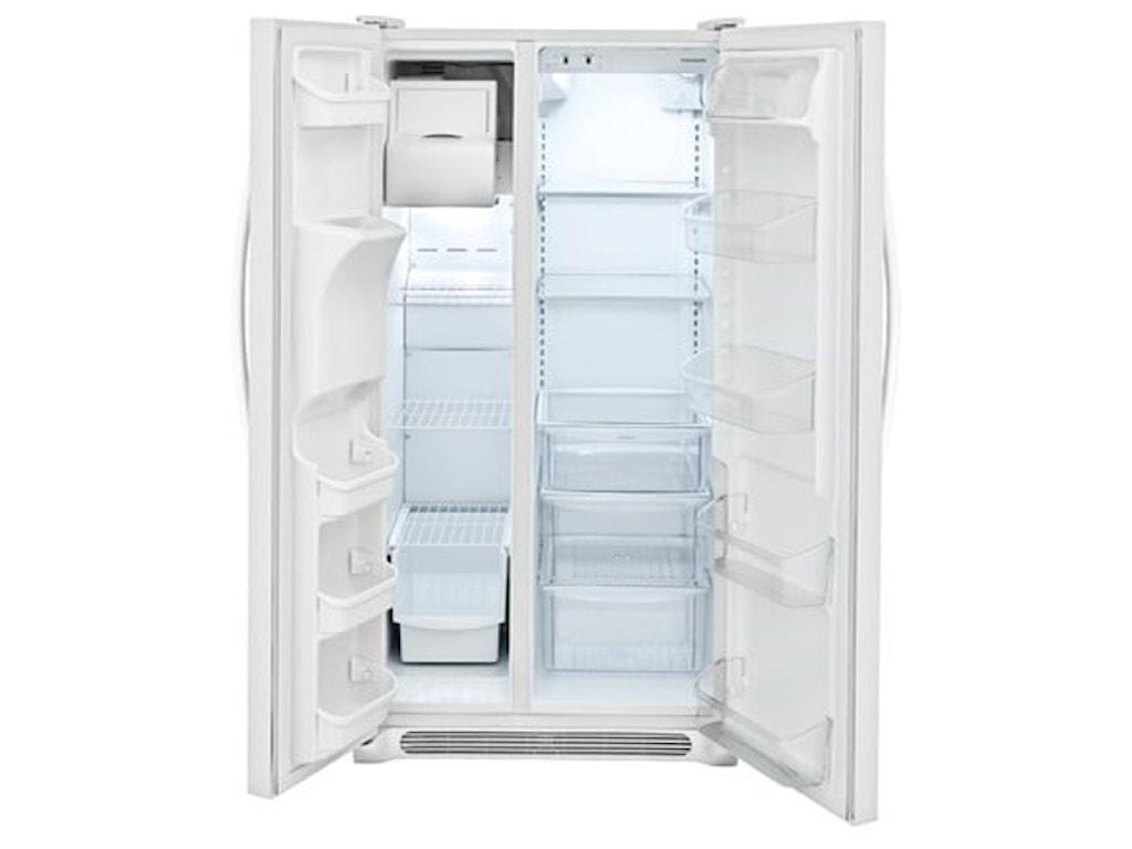 Frigidaire Side-By-Side Refrigerators25.5 Cu. Ft. Side-by-Side Refrigerator