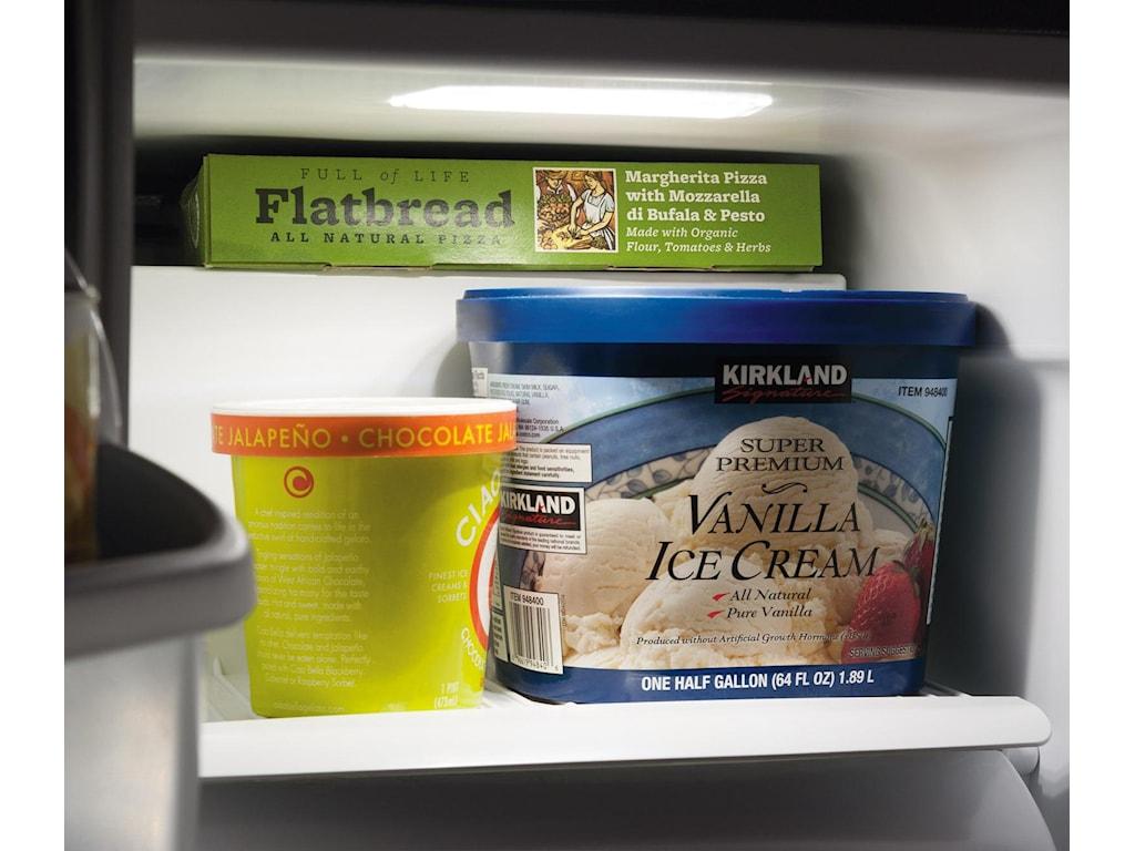 2 Glass Freezer Shelves