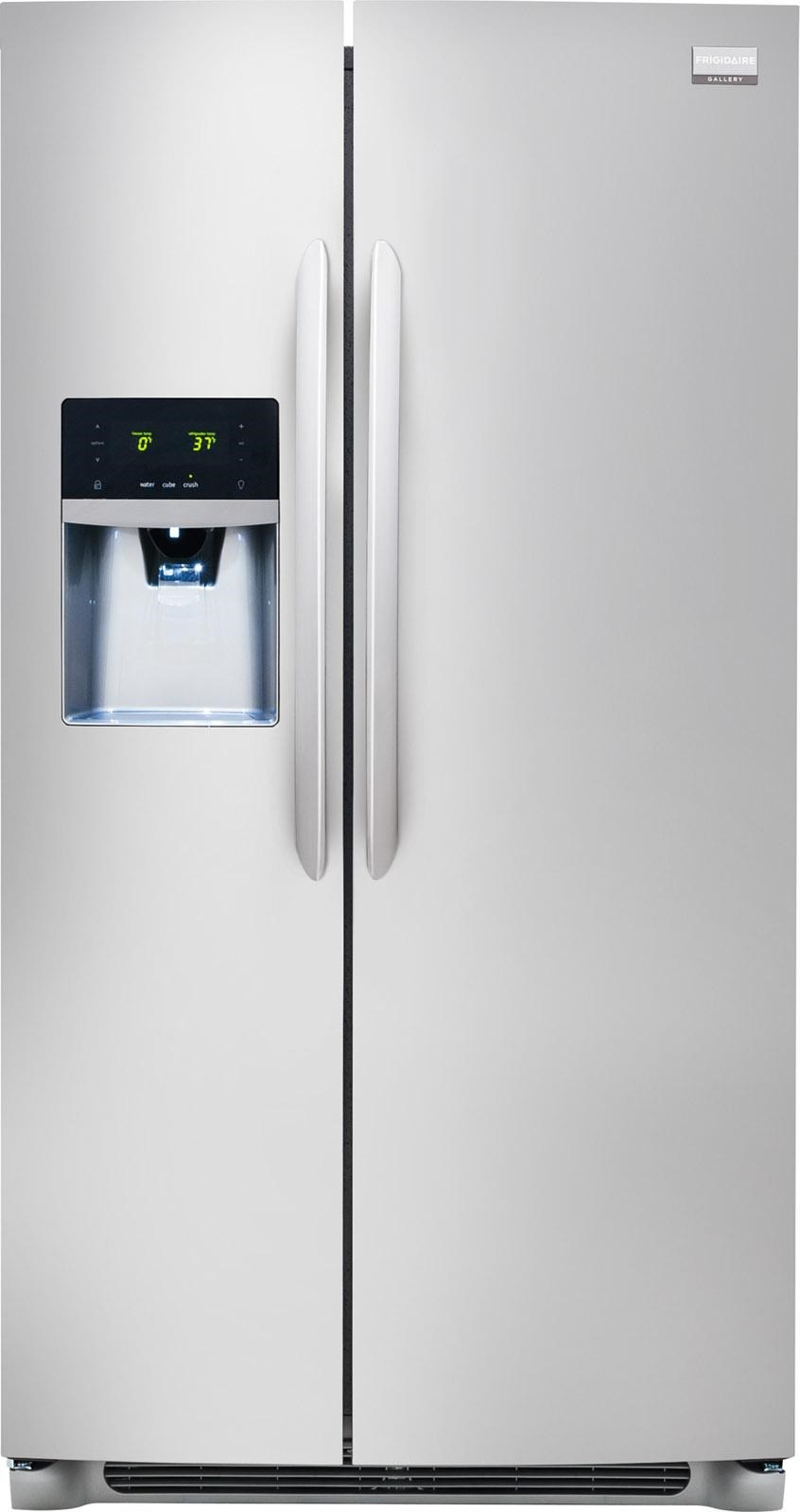 gallery energy star 26 cu ft side by side refrigerator with rh wilcoxfurniture com