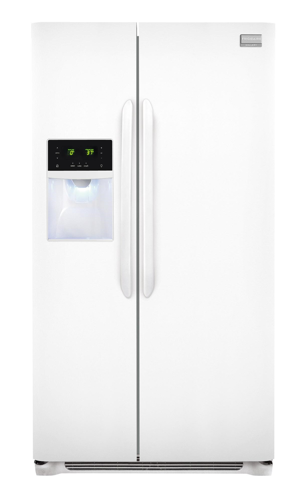 frigidaire fghs2631ppgallery energy star 26 cu ft side by side rh furnitureappliancemart com