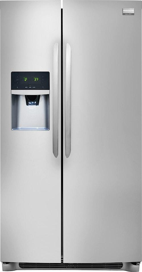 Frigidaire Frigidaire Gallery Refrigerators Gallery ENERGY STAR® Qualified 26 Cu. Ft. Side-by-Side Refrigerator