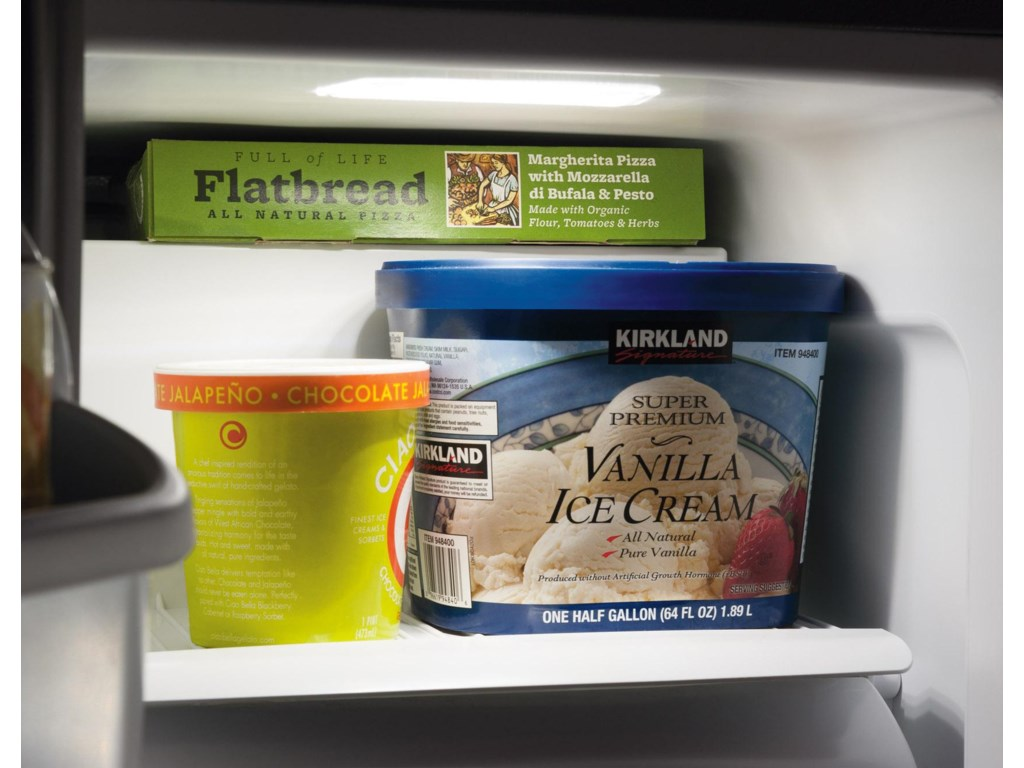 2 Glass Shelves in the Freezer