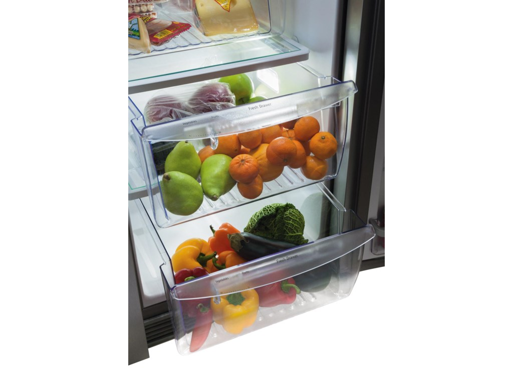 2 Clear Humidity Controlled Crisper Drawers