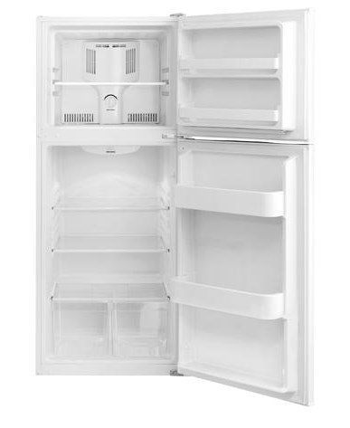 Frigidaire 9.9 Cu. Ft. Top Freezer Apartment-Size Refrigerator ...
