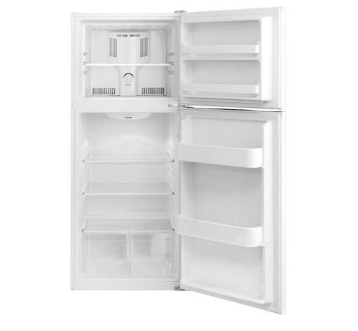 Ft. Top Freezer Apartment Size Refri ...