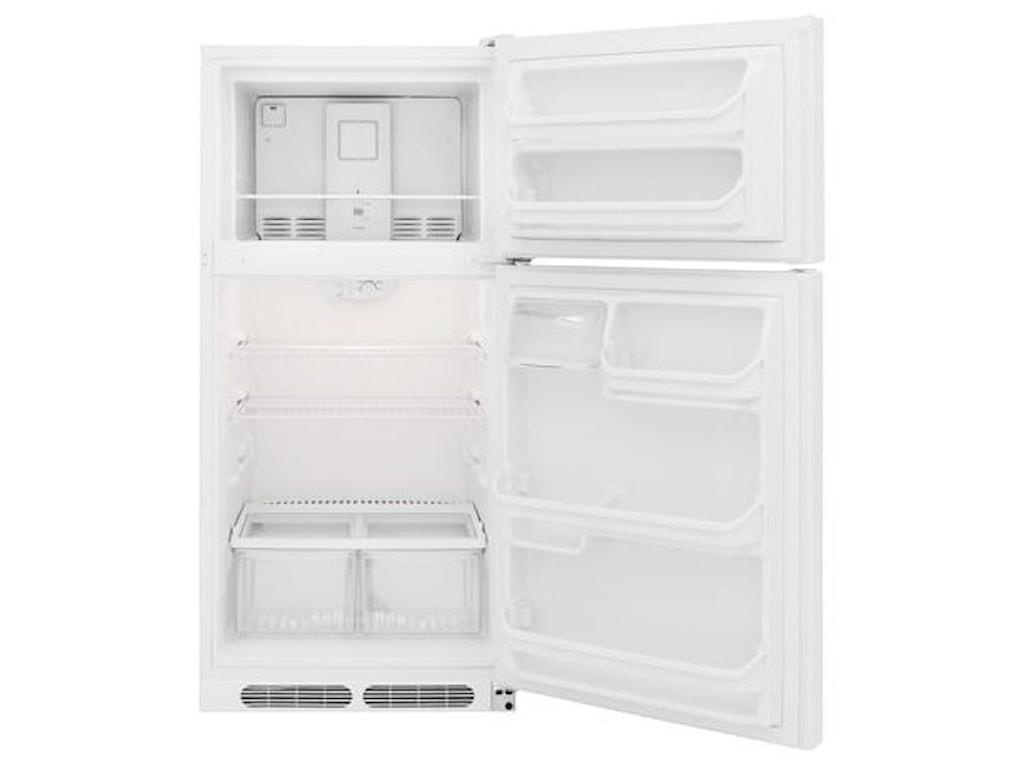 Frigidaire Top Freezer Refrigerators15 Cu. Ft. Top Freezer Refrigerator