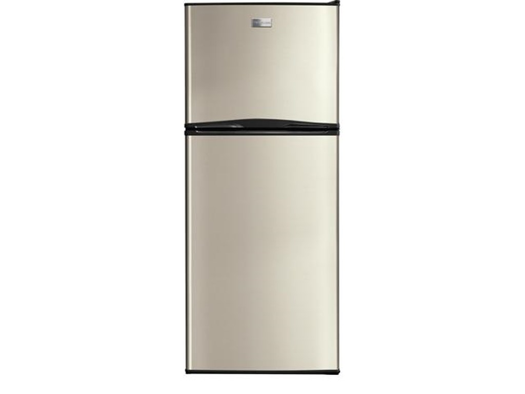 Frigidaire 12 Cu. Ft. Top Freezer Apartment-Size Refrigerator ...