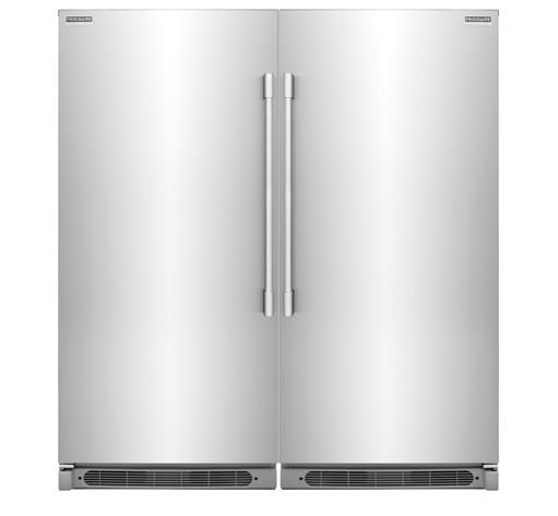 ft all freezer with powerplus ice maker by frigidaire upright freezers collection - Upright Freezers