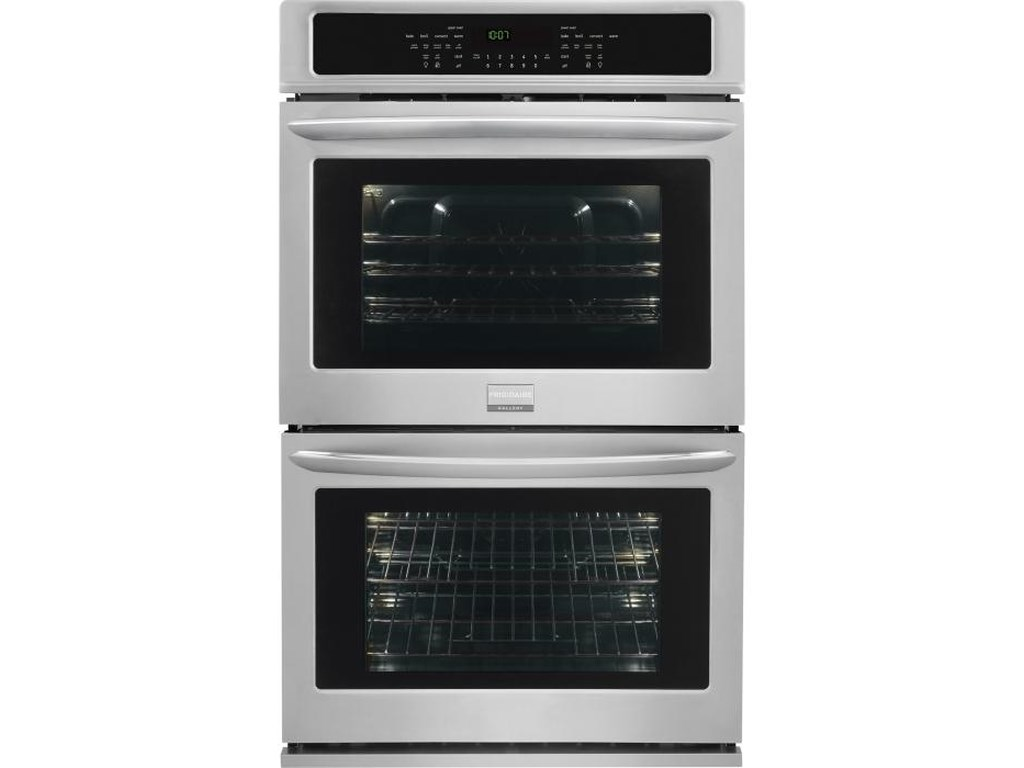 Frigidaire Gallery Ovens 30 Built In Double Electric Convection Wall Oven 4 2 Cu Ft Upper Lower Capacity By At Sheely S