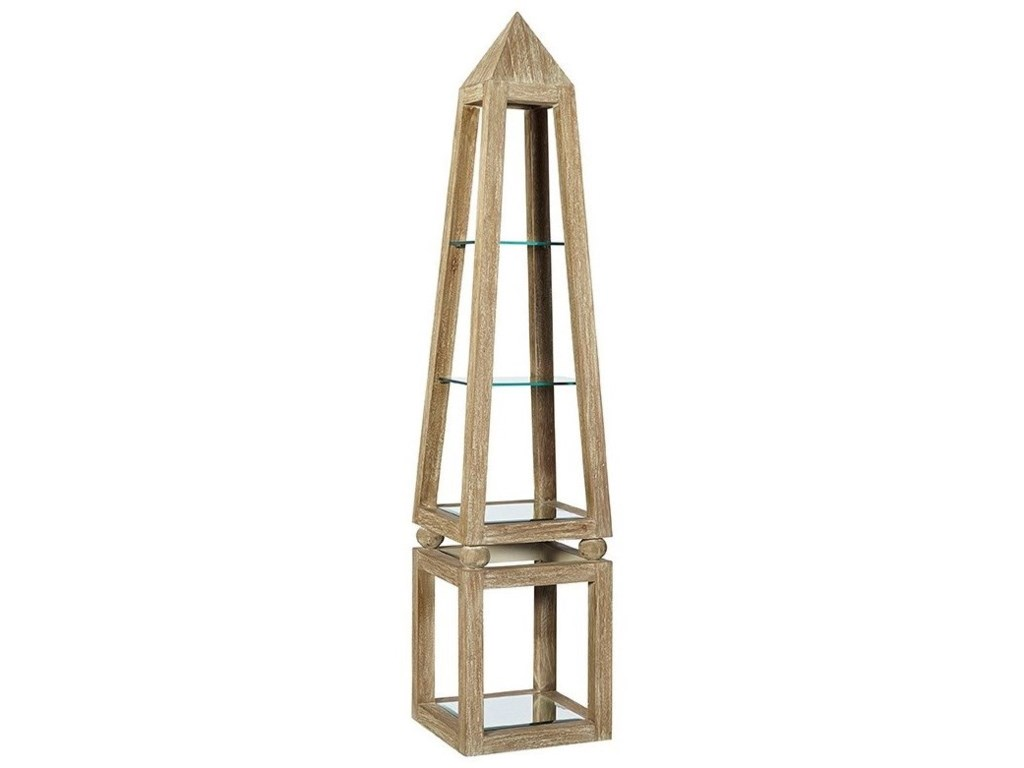 Furniture Classics AccentsKhafra Pyramid Shelf
