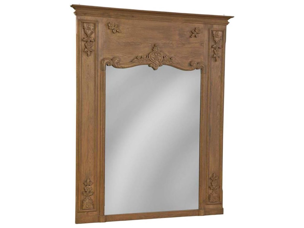 Furniture Classics AccentsCarved Reclaimed Mirror