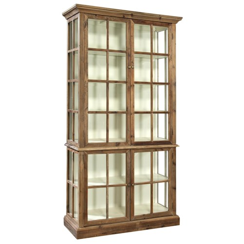 Furniture Classics Accents Reclaimed Fir Fillmore Display Cabinet