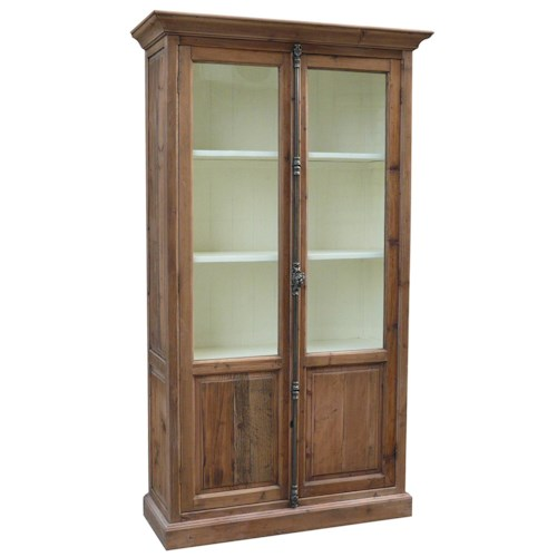 Furniture Classics Accents Single Willoughby Cabinet with 2 Doors and 3 Shelves