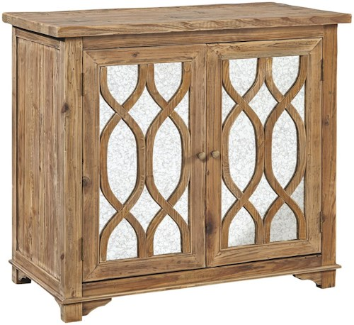 Furniture Classics Accents Single Mirrored Side Table