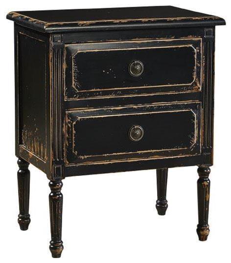 Furniture Classics AccentsPetite Jolie Chest, Distressed Black