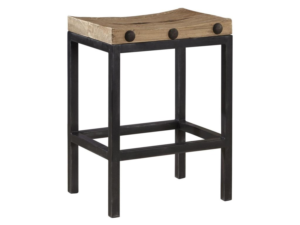 Accents Modern Style West End Counter Stool With Reclaimed Wood By Furniture Clics At Pilgrim City