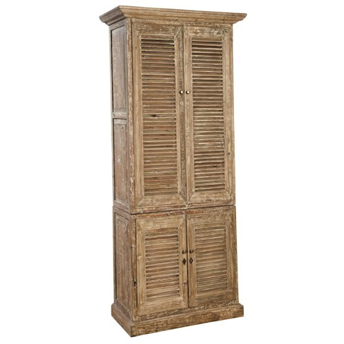 Furniture Classics Accents Rustic Reclaimed Wood Hilton