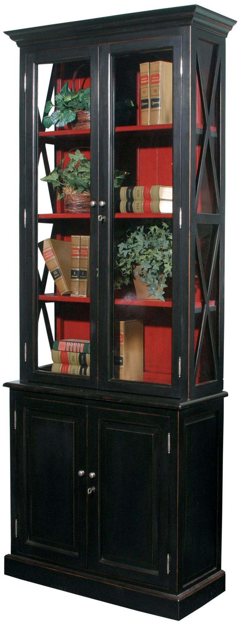 Accents 4 Door Stratford Cabinet With 3 Shelves By Furniture Classics
