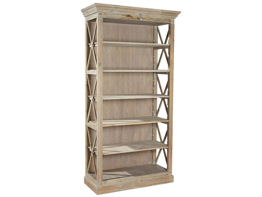 Furniture Classics AccentsWeathered Open Bookcase
