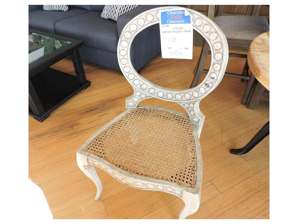 Furniture Classics ClearanceCarved Accent Chair