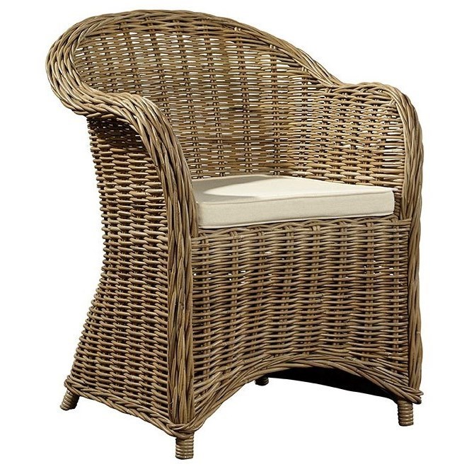 Furniture Classics Occasional Chairs Batavia Rattan Arm Chair