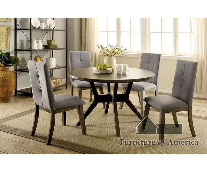 Furniture of America AbeloneTable + 4 Chairs