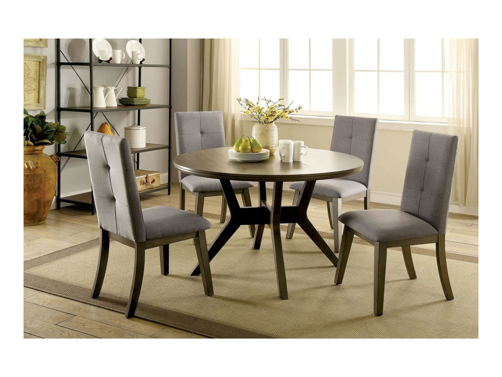 America AbeloneTable + 4 Chairs