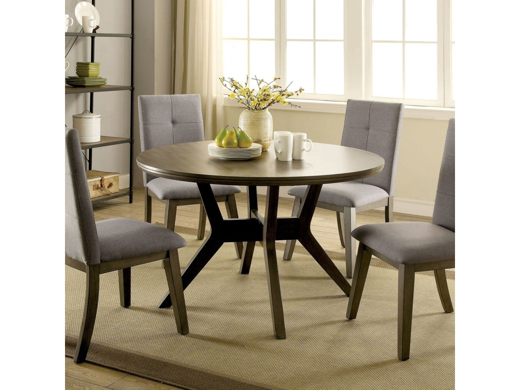 Furniture of America AbeloneSet of 2 Side Chairs
