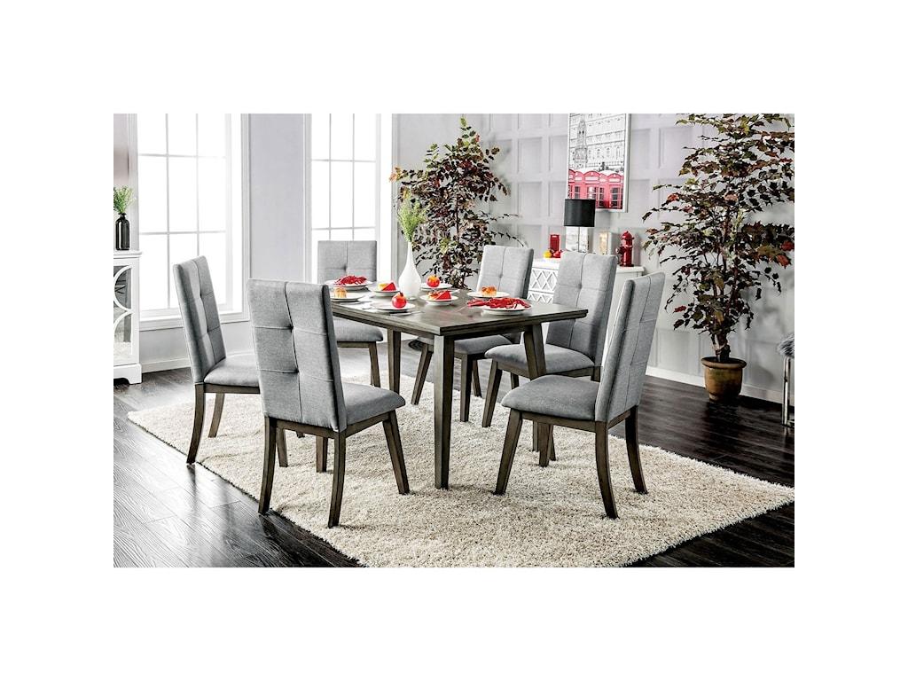 Furniture of America AbeloneDining Table