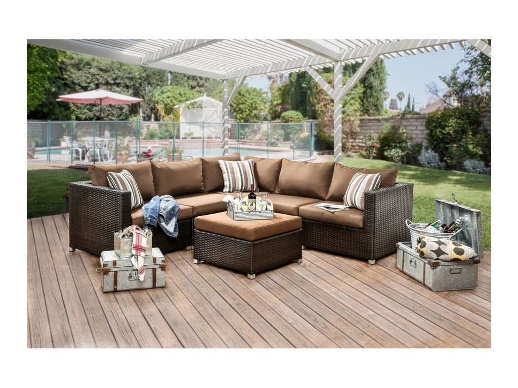 Furniture of America Abion2 Pc. Arm Chairs